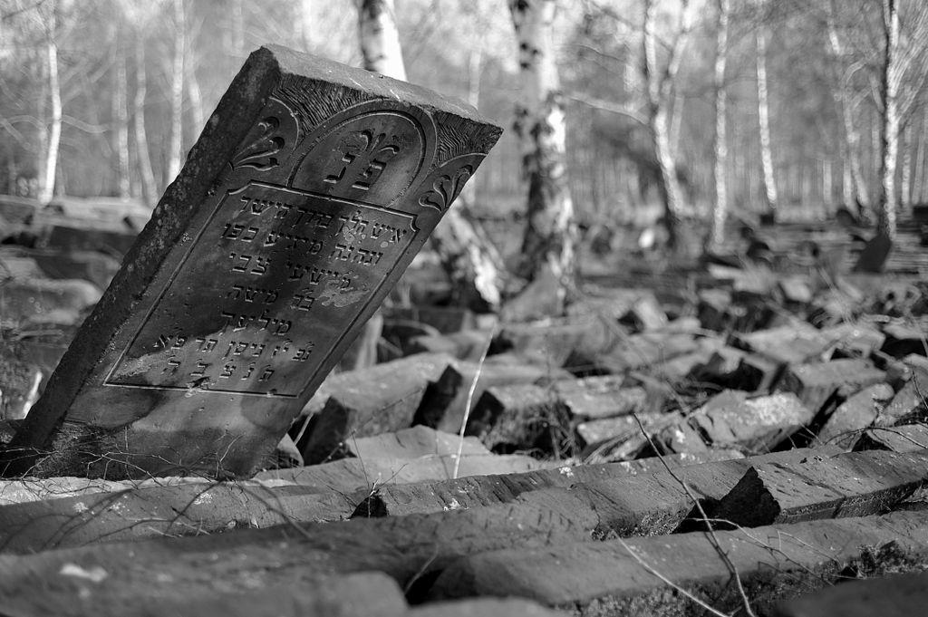 Ancien cimetière juif de Praga à Varsovie - Photo Cezary Piwowarski