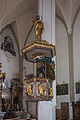 Kitzbühel Pfarrkirche Kanzel 01.JPG