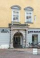 Klagenfurt Innere Stadt Alter Platz 31 Zur Goldenen Gans Rustikaportal OSO-Ansicht 06092020 7925.jpg