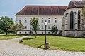 Klagenfurt Viktring Stiftskirche Bernhardkapelle und Apsis Stift Ost-Trakt 02092016 4048.jpg