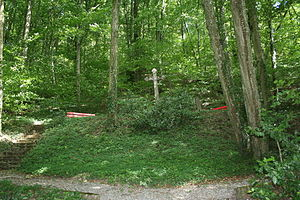 Klingnau - Mass grave following the typhoid epidemic of 1813–14