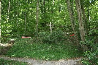 Klingnau - Mass grave following the typhoid epidemic of 1813–14