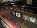 Kneelers and pews at St Mary's, Alverstoke - geograph.org.uk - 1424921.jpg
