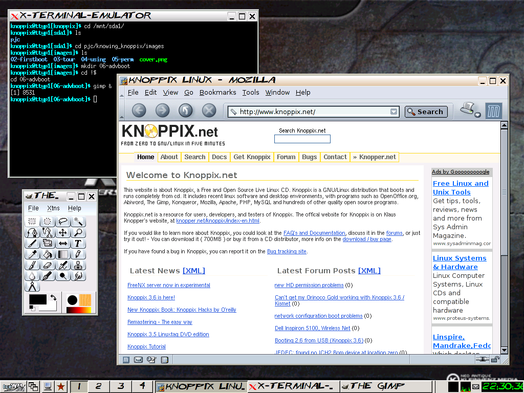 knowing knoppix  alternatives to kde