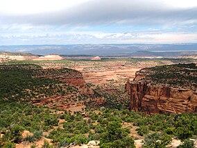 City Of Colorado Springs >> Black Ridge Canyons Wilderness - Wikipedia