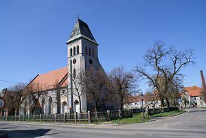 Kościół ewangelicki w Prochowicach. Foto Barbara Maliszewska