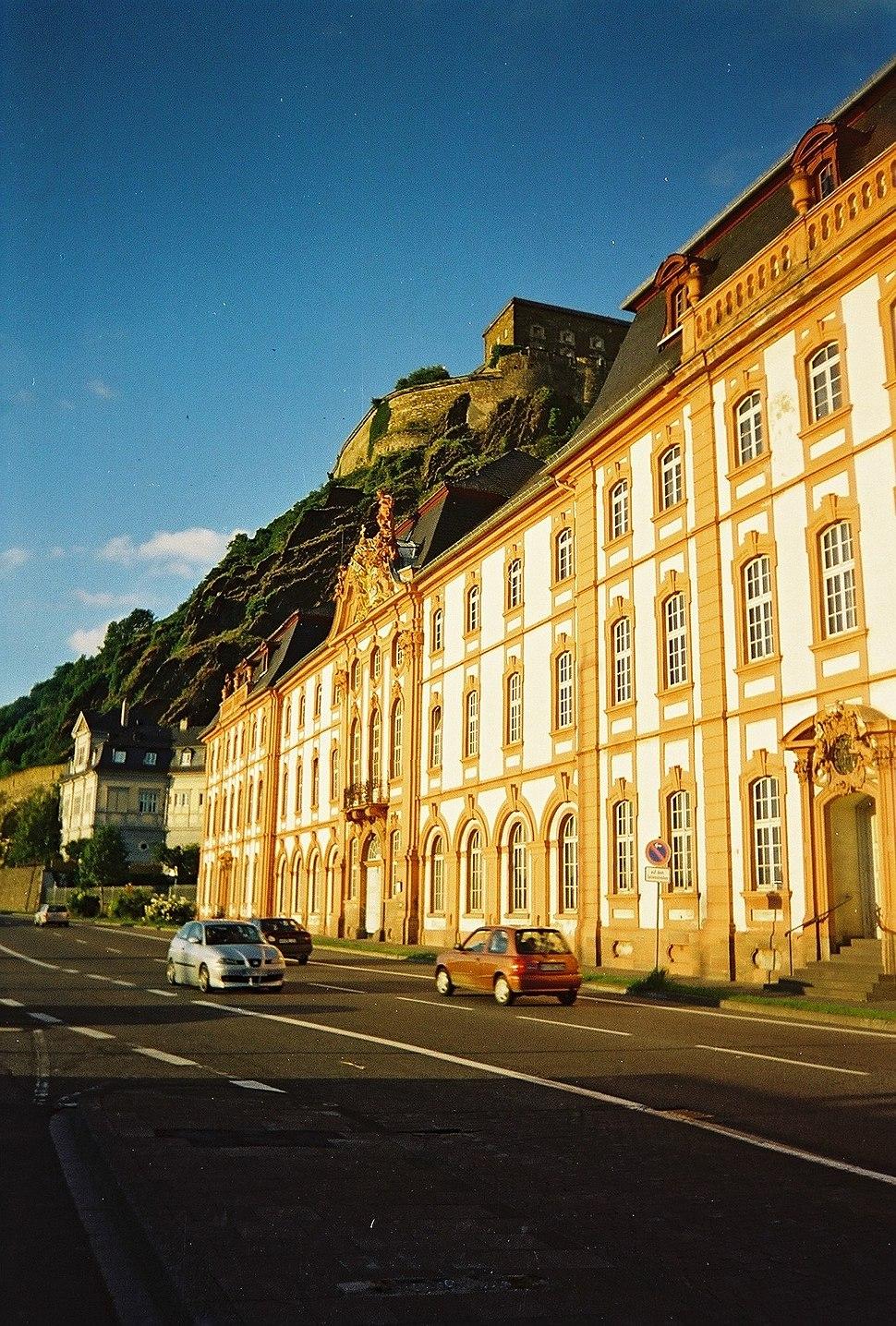 Koblenz castle and building