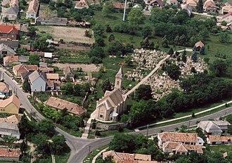 Kocs - Image: Kocs légifotó1