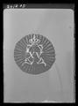 Kokard till Konung Karl XVs jaktklubbs uniform, Sverige 1863-1880 c - Livrustkammaren - 19886.tif