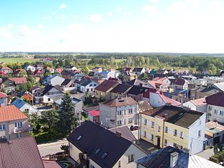 Kolno Place in Podlaskie Voivodeship, Poland