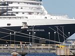 Koningsdam Name Sign Port of Tallinn 9 September 2016.jpg