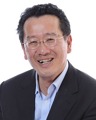 Financial Supervisory Commission (Taiwan) - Wellington Koo, the incumbent Chairperson of the Financial Supervisory Commission.