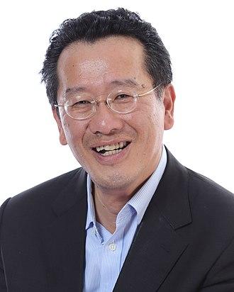 Wellington Koo (politician, born 1958) - Image: Koo Li Hsiung 1 by Ring Chang (cropped)