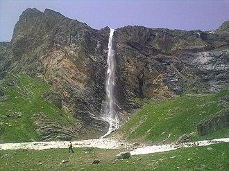 Korab Falls - Image: Korab waterfall 1