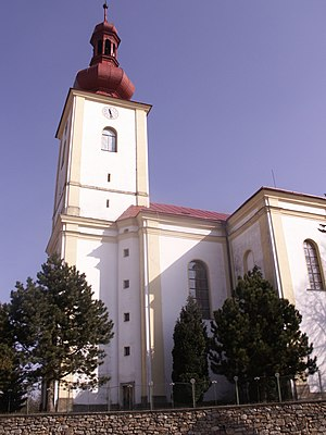 Bohdalov - Image: Kostel Bohdalov