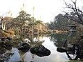 Kotoji Toro and Karasakimatsu Pine Tree in Kenroku Garden.JPG