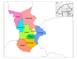 Andemtenga Department Department in Kouritenga Province, Burkina Faso