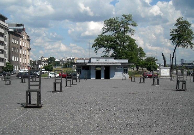 Kraków Ghetto and Jewish Deportation Holocaust Memorial, May 2012