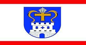 Ostholstein - Image: Kreis Ostholstein flag