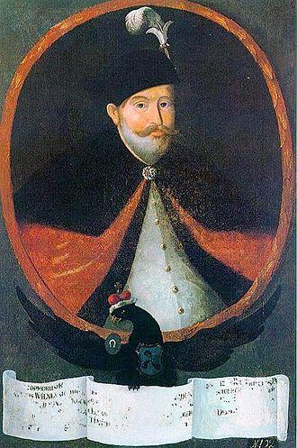 """Polish–Swedish War (1617–18) - Grand hetman Krzysztof Radziwiłł """"junior"""""""
