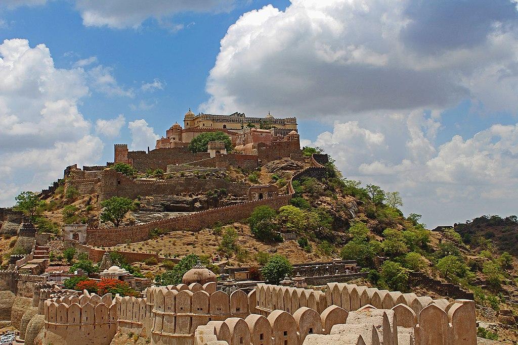 Kumbhalgarh forts in India