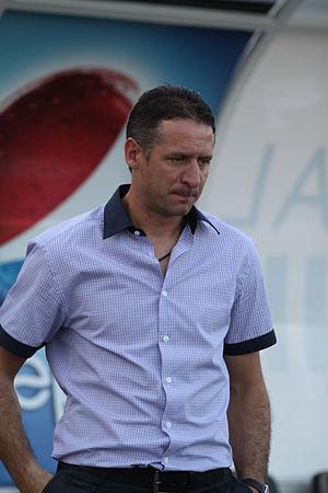 Martin Kushev - Image: Kushev coach