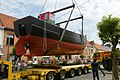 Kustvissersvaartuig OD.1 Martha wordt overgebracht naar het nieuwe Nationaal Visserijmuseum te Oostduinkerke - 372984 - onroerenderfgoed.jpg