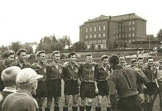 FC Kuusysi - The Upon Pallo team that achieved promotion to Suomensarja, after their match against HPK.