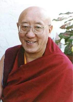 Bokar Tulku Rinpoche - Image: Kyabje Bokar Rinpoche