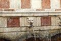 L'aquila, fontana delle 99 cannelle, mascheroni 07.jpg