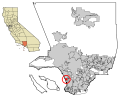 LA County Incorporated Areas Manhattan Beach highlighted.svg