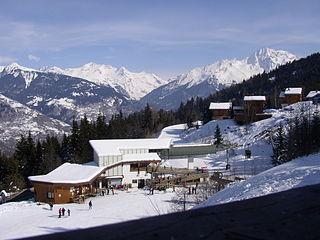 La Perrière, Savoie Part of Courchevel in Auvergne-Rhône-Alpes, France