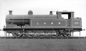 LNWR 1185 Class - No. 289 in photographic grey livery