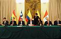 LOS CANCILLERES Y FUNCIONARIOS DE SECTOR ENERGÍA DE BOLIVIA, CHILE, COLOMBIA, ECUADOR Y EL PERÚ SE REUNIERON EN LIMA EN BUSCA DE CONCRETAR LA INTERCONEXIÓN ELÉCTRICA DE SUS PAÍSES (5966150477).jpg