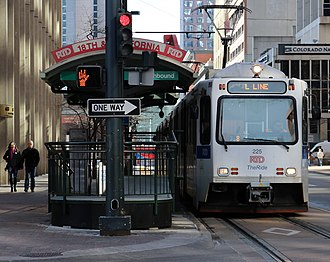 18th & California and 18th & Stout stations - Image: L Line (RTD)
