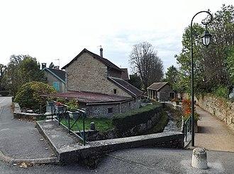 La Balme-les-Grottes - The Lavoir (Public laundry)