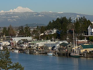 La Conner, Washington Town in Washington, United States