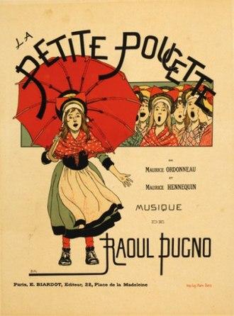 Raoul Pugno - Image: La Petite Poucette poster by de Monvel