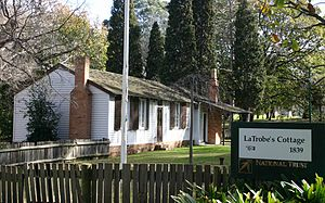 La Trobe's Cottage - La Trobe's Cottage in Kings Domain.