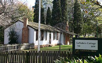 La Trobe's Cottage - La Trobe's Cottage in Kings Domain.