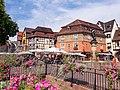 La place de l'Ancienne-Douane à Colmar en été.jpg