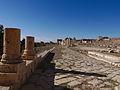La porte nord et l'extrémité nord du Cardo - Jerash - Novembre 2014 09.jpg