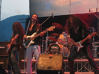 Labyrinth (band) - Labyrinth performing live at Evolution Festival, July 14, 2006.