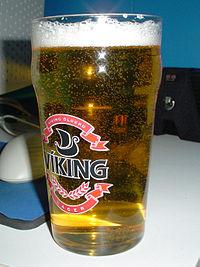 IJslands bier: Viking: https://nl.wikipedia.org/wiki/Bier_in_IJsland