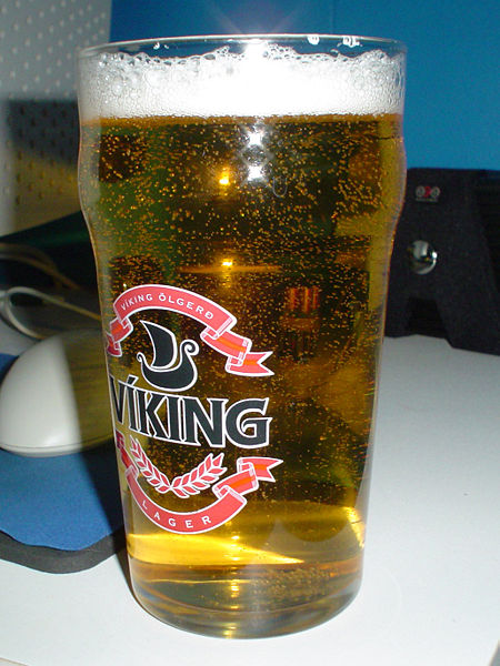 File:Lager beer in glass.jpg