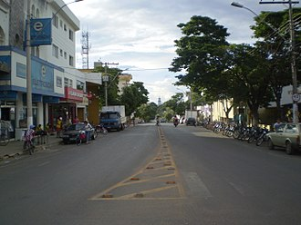 Lagoa da Prata - Image: Lagoa da Prata rua principal
