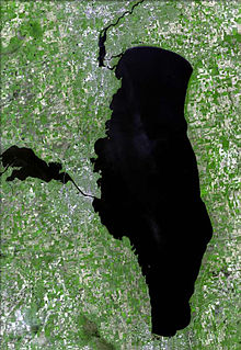 Lake Winnebago lake in Wisconsin