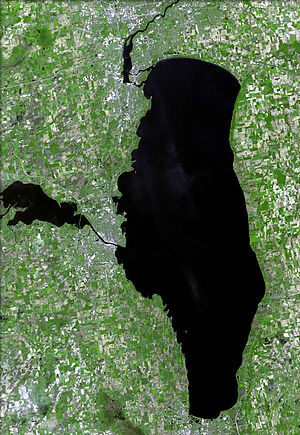 Lake Winnebago - 2006 image from space