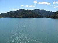 やまびこ大橋から宮ヶ瀬湖