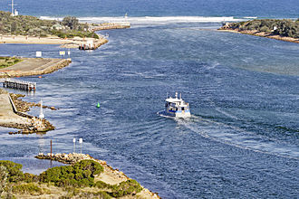 Gippsland Lakes - The Entrance to Gippsland Lakes